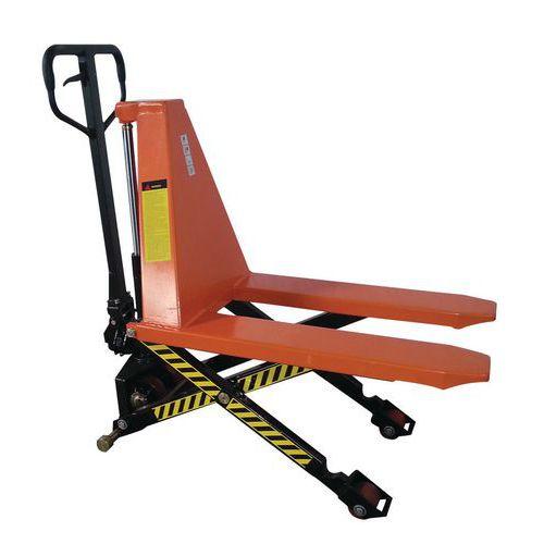 Nożycowy wózek paletowy, do 1000 kg, wysokość podnoszenia 500 mm