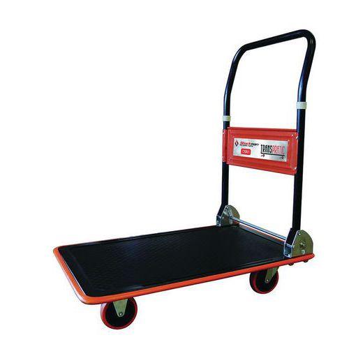 Wózek platformowy ze składanym uchwytem, do 150 kg