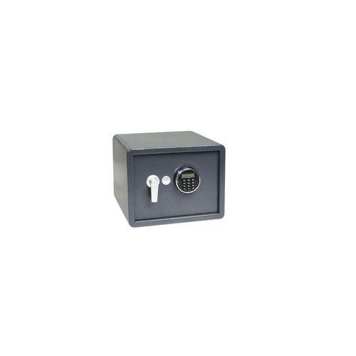 Sejf meblowy z zamkiem elektronicznym wyposażonym w alarm