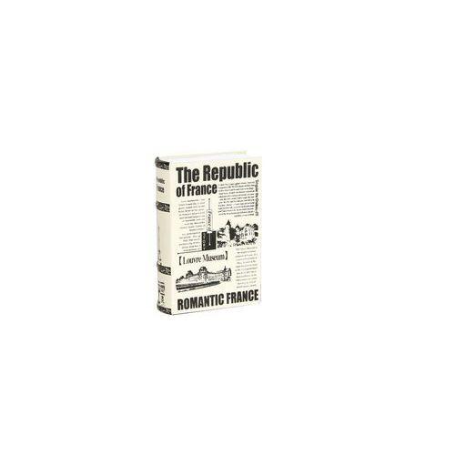 Metalowa skrzynka zabezpieczająca w kształcie książki France