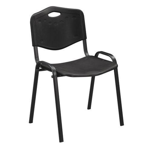 Plastikowe krzesła do jadalni ISO