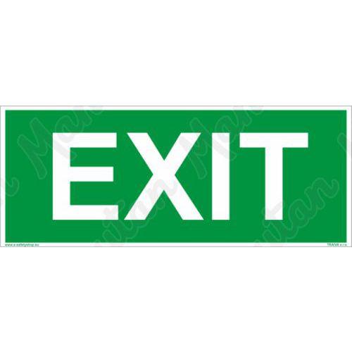 Fotoluminescencyjne tablice ewakuacyjne - EXIT