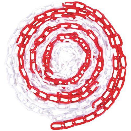 Plastikowe łańcuchy do słupków odgradzających Manutan, 25 cm