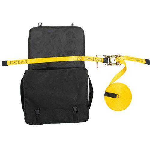 Lina bezpieczeństwa do zastosowań poziomych, czarny/żółty