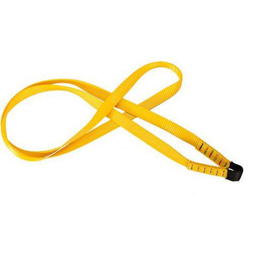 Taśma do zaczepienia na elementach konstrukcji, żółty