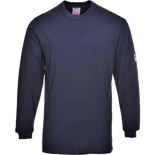 T-shirt z długimi rękawami, niebieski