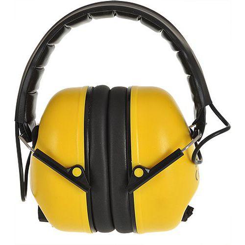 Elektroniczny ochronnik słuchu, żółty