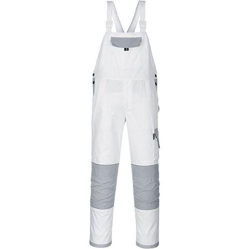 Spodnie ogrodniczki Painters Pro, biały