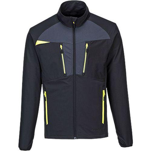 Bluza rekreacyjna DX4 zapinana na zamek, czarny