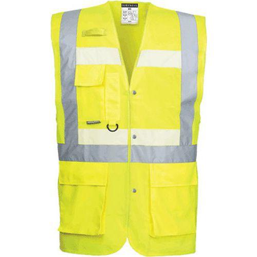 Kamizelka ostrzegawcza Glowtex Executive, żółty