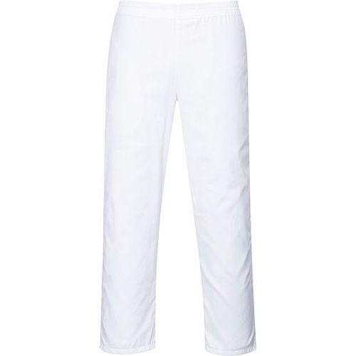 Spodnie piekarza, biały
