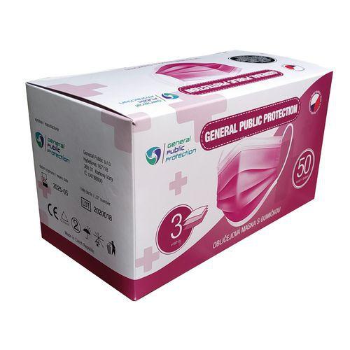 Jednorazowa maseczka chirurgiczna GPP, typ IIR, 50 szt.