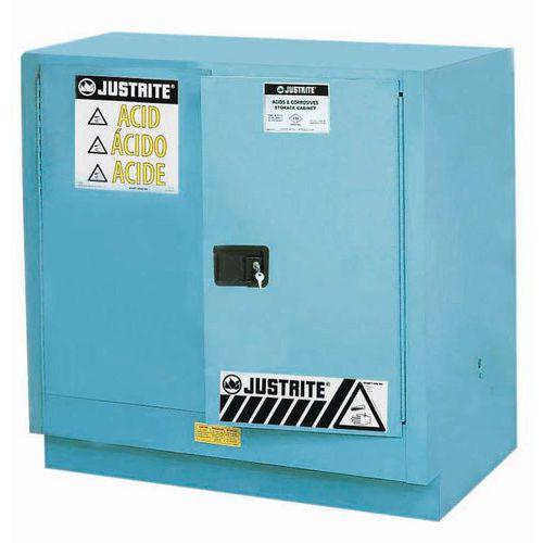 Szafy na substancje niebezpieczne Justrite Sure-Grip® EX, 889 x 889 x 559 mm